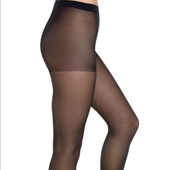 08462da1e Wolford light support tights. New. Black. M. NWT